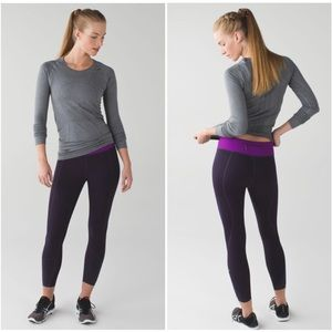 Lululemon | The Tight Stuff Leggings Reflective 6